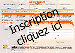 Bulletin d'inscription Formation